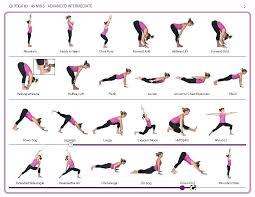 yoga poses pictures printable printable yoga poses printable chart basic yoga poses printable chart