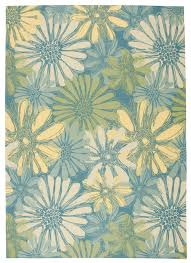 Polypropylene Area Rugs by Jaipur Rugs Indooroutdoor Abstract Pattern Multi Blue