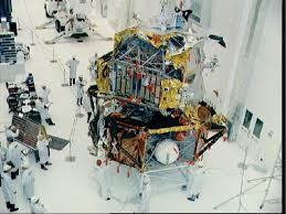 Lunar Module Interior As9
