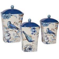 kitchen jars and canisters bird canister set ebay