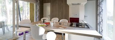 Landes Dining Room Rental Chalet Camelias 35m 6 Pers Landes ᐃ Eurosol