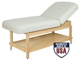 Oakworks Nova Massage Table by Oakworks Clinician Adjustable Height Lift Assist Backrest Top