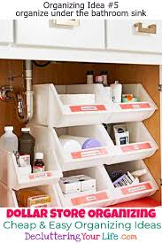 organizing bathroom ideas diy hacks crafts dollar store organizing bathroom