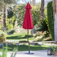 4 Foot Patio Umbrella 7 5 Ft Patio Umbrella With Mahogany Stained Pole