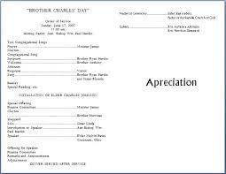 Wedding Bulletin Template Church Program Templates Word Pacq Co