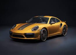 yellow porsche golden yellow porsche 911 turbo s exclusive series limited to 500