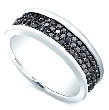 mens black diamond wedding bands black diamond wedding rings men black diamond mens bands
