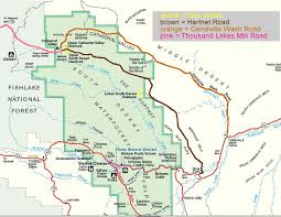 capitol reef national park map website design by roger gervin drive the cathedral valley loop