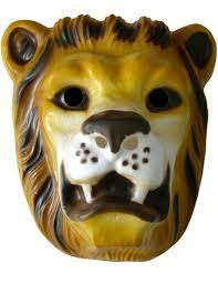 lion mask children s plastic lion mask party packs