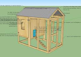 basic chicken house plans with simple chicken house ideas 6077