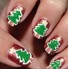 the 25 best christmas nail designs easy simple ideas on pinterest