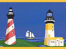 sailboat wallpaper border ebay