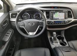 toyota highlander 2017 interior 2017 toyota highlander the daily drive consumer guide