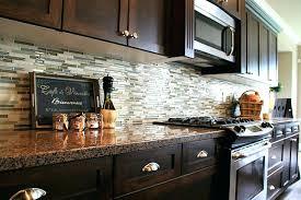 backsplash for dark cabinets and dark countertops kitchen backsplash with dark cabinets tinyrx co