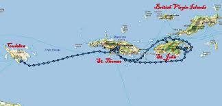 St Thomas Virgin Islands Map Big City Living U2013 Our Life Aquatic