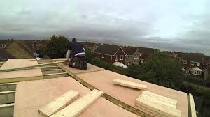 loft conversion building the frame of the dormer youtube
