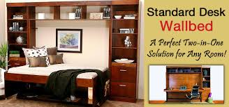 Hidden Desk Bed by The Perfect Desk Bed For Your Guest Room Office Wallbeds N U0027 More