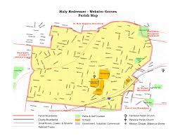 Big Bend Map Map Directions Holy Redeemer Catholic Parish