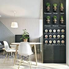 tableau magnetique cuisine peinture tableau craie magnetique tableau design pour cuisine 77
