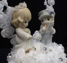 precious moments mix match wedding cake topperbride figurine