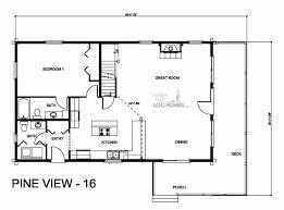 pv plan golden eagle log and timber homes floor plan details pv 16