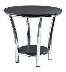 round silver accent table silver end table silver iron and mirror accent nesting tables silver