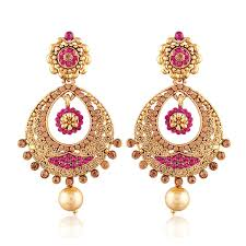 gold earrings for marriage imitation jewellery buy imitation jewellery online browse