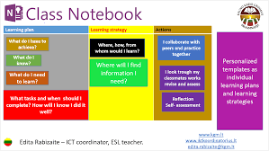 onenote class notebook as an e portfolio office blogs