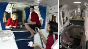 chambre secr鑼e voici à quoi ressemblent les chambres secrètes des hôtesses de l air