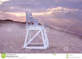 lifeguard chair on beach cape cod stock photo image 43721096
