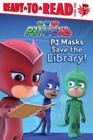pj masks save library book daphne pendergrass style
