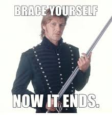 Meme Brace Yourself - brace yourself now it ends meme on esmemes com