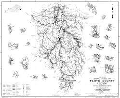 Kentucky Counties Map The Appalachian States