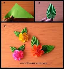 cara membuat origami bunga yang indah cara mudah membuat origami bunga yang cantik kreasi ceria