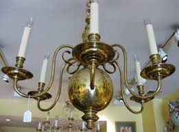 Chandelier Makeover Improving Room Ambience With An Antique Brass Chandelier