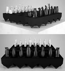 Unique Chess Pieces 15 Creative And Unusual Chess Set Designs U2013 Design Swan
