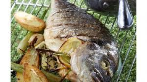 cuisiner une dorade dorade royale au barbecue sauce vierge recettes poissons
