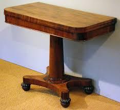 vintage pedestal side table antique pedestal card table side table antique card tables uk