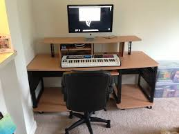 Creation Station Studio Desk by Studio Rta Producer Station Maple Musician U0027s Friend