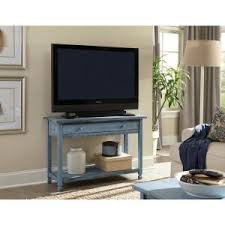Decor Look Alikes Save 430 Alaterre Furniture Country Cottage Blue Antique Media Console