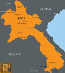 China On The Map by Laos Destination Saffron Travel