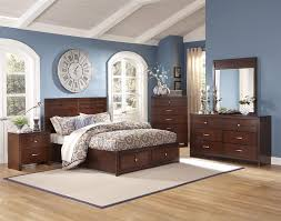Low Profile Furniture by New Classic Kensington Queen Low Profile Bed With Storage