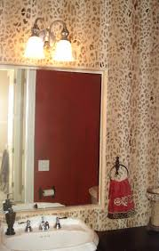 Leopard Bathroom Rugs Bathroom Stunning Picture Of Bathroom Decoration Using Brown