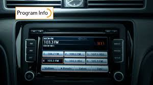 2014 u0026 2015 vw passat w hd radio technology youtube