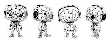 tonight u0027s custom sketch headphones spiderman funkopop
