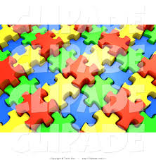 royalty free jigsaw stock designs