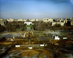 aerial views of the white house john f kennedy presidential