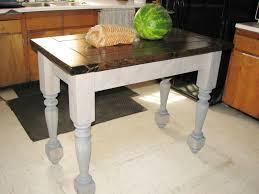 white oak wood chestnut lasalle door kitchen island with legs