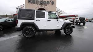 jeep rubicon white 2016 jeep wrangler unlimited sport bright white gl142227