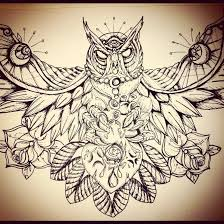 download free owl tattoo design by jeff thacker on deviantart to